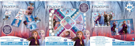 Spin Master Frozen 2 - Puzzles 3 Pack Games Bundle