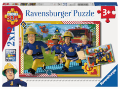 Ravensburger 05015 Puzzle: Sam und sein Team 2x12 Teile