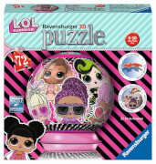 Ravensburger 11162 Puzzleball LOL 72 Teile