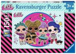 Ravensburger 12883 Puzzle: LOL Surprise 150 Teile XXL