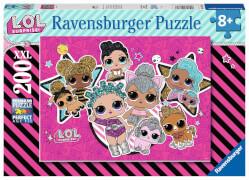 Ravensburger 12884 Puzzle: LOL Surprise 200 Teile XXL