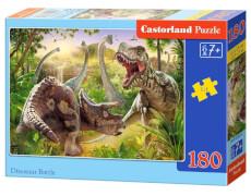 Castorland Dinosaur Battle, Puzzle 180 Teile