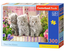 Castorland Three Grey Kittens, Puzzle 300 Teile
