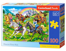 Castorland Princess Horse Ride, Puzzle 100 Teile