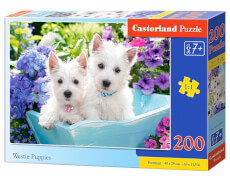 Castorland Westie Puppies, Puzzle 200 Teile