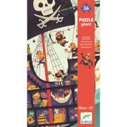 Bodenpuzzle: Das Piratenschiff