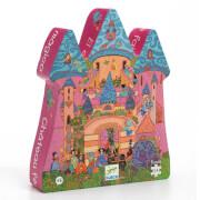 Formen Puzzle: The fairy castle - 54 Stk.