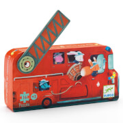 Formen Puzzle: The fire truck - 16Stk. *