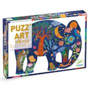Puzz'art: Eléphant - 150Stk. *