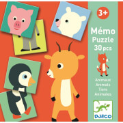 Lernspiele: Memo Animo-puzzle