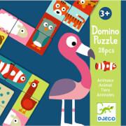 Lernspiele: Domino Animo-puzzle