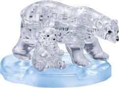 Crystal Puzzle - Eisbärenpaar 40 Teile