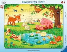 Ravensburger 05075 Puzzle Kleine Tierfreunde 30-48 Teile