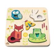 Tenderleaftoys - Puzzle Tiere 5 Teile