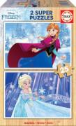 Educa - Holzpuzzle Frozen B 2x25 Teile