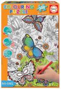 Educa - Colouring Puzzle Wild & Free 300 T.