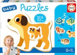 Educa - Baby Puzzles Animals 2x2/2x3/4 Teile