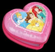 Ravensburger 11234 Puzzle Herzschatulle - Disney Princess 54 Teile