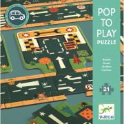Bodenpuzzle: Strassen