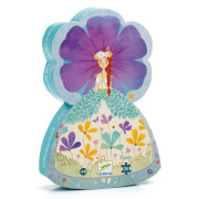 Formen Puzzle: Prinzessin des Frühlings