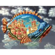 DaVici Puzzle - Ein bewohnter Fisch