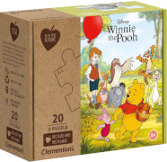 Clementoni Puzzle Play for Future - Winie the Pooh 2 x 20 Teile