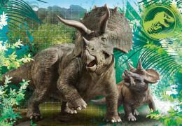 Clementoni Puzzle Supercolor - Jurassic World 3 x 48 Teile