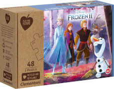 Clementoni Puzzle Play for Future - Frozen 2 3 x 48 Teile