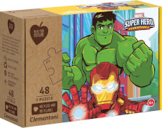 Clementoni Puzzle Play for Future - Marvel Superhero 3 x 48 Teile