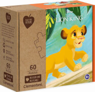 Clementoni Puzzle Play for Future - Lion King 60 Teile