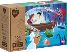 Clementoni Puzzle Play for Future - Die kleine Meerjungfrau 104 Teile