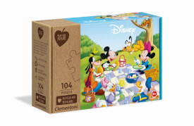 Clementoni Puzzle Play for Future - Mickey Mouse 104 Teile