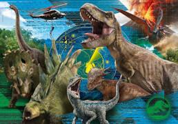 Clementoni Puzzle Supercolor - Jurassic World 104 Teile