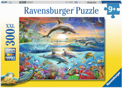 Ravensburger 12895 Puzzle Delfinparadies 300 Teile