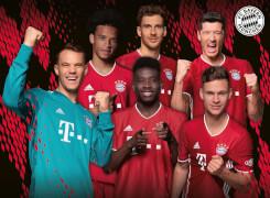 Ravensburger 12918 Puzzle FC Bayern Saison 2020/21 100 Teile