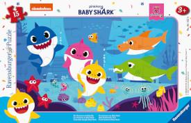 Ravensburger 05122 Puzzle Abenteuer von Baby Hai 15 Teile