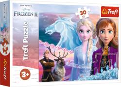 Puzzle 30 # Der Mut der Schwestern / Disney Frozen 2