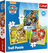 3 in 1 Puzzle # Paw Patrol