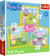 3 in 1 Puzzle # Peppa Pig