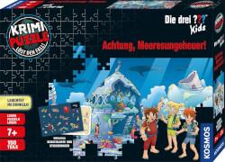 Kosmos Krimipuzzle Die drei ??? Kids 150 Teile / Achtung, Meeresungeheuer!