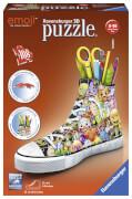 Ravensburger 11218 Puzzle Emoji Sneaker 108 Teile