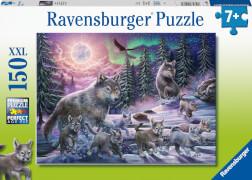 Ravensburger 12908 Puzzle Nordwölfe 150 Teile