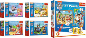 Paw Patrol Memo + 2in1 Puzzle (30 und 48 Teilen) + Minipuzzle (53 Teile)