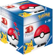 Ravensburger 11256 Puzzleball Pokémon Pokéballs - Pokéball Classic 54 Teile
