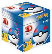 Ravensburger 11265 Puzzle Pokémon Pokéballs - Superball 54 Teile