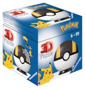 Ravensburger 11266 Puzzle Pokémon Pokéballs - Hyperball 54 Teile