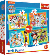 4 in 1 Puzzle # Paw Patrol