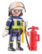 Schmidt Spiele 56380 PLAYMOBIL Feuerwehr, 40 Teile, mit Add-on (Original Figur)