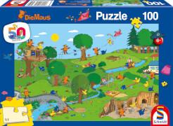 Schmidt Spiele 56395 Die Maus  Im Spielpark, 100 Teile