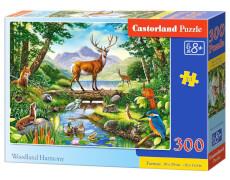 Glow2B Castorland Woodland Harmony, Puzzle 300 Teile